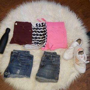 Girls set of calif summer shorts